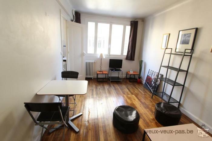 1 pièce 1 chambre meuble 22m²
