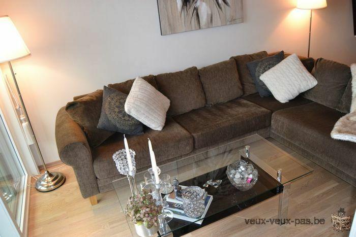 Appartement 1 chambre meuble 40 m² Etterbeek