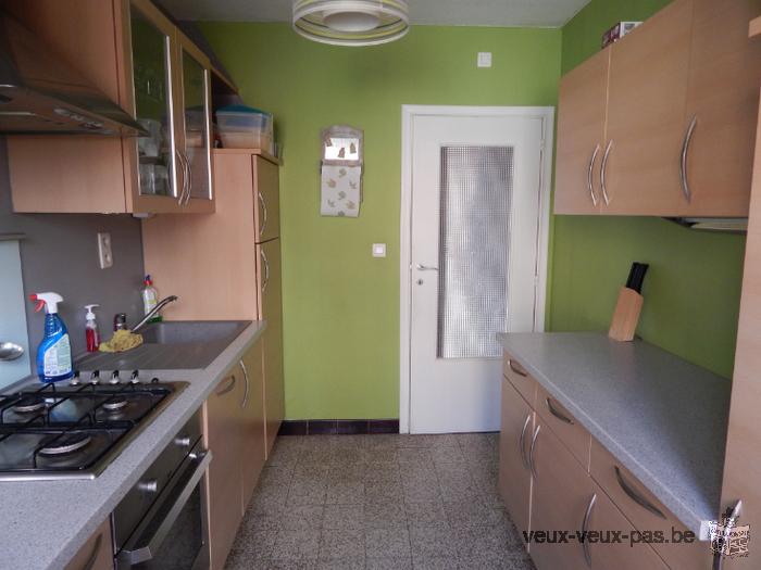Appartement spacieux de 85m² sur Charleroi