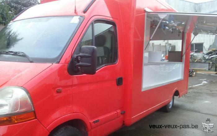 Camion Pizza Renault Master 2.5DCI