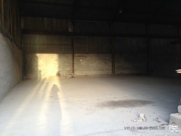 Entrepôt - Hangar à louer à Haine Saint Paul