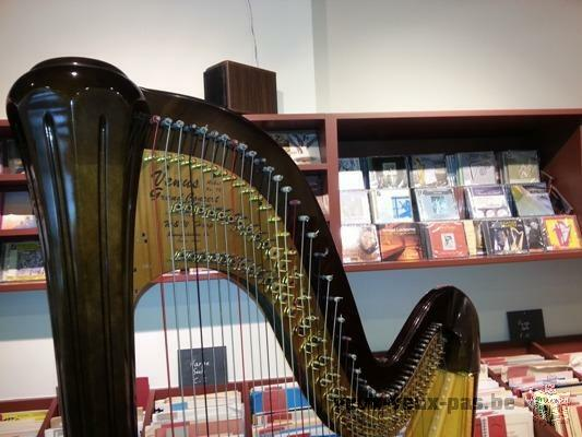 Harpe venus diplomat 47 cordes grand concert