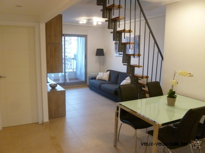 Superbe penthouse/appartement 5p vue mer CALPE Costa Blanca