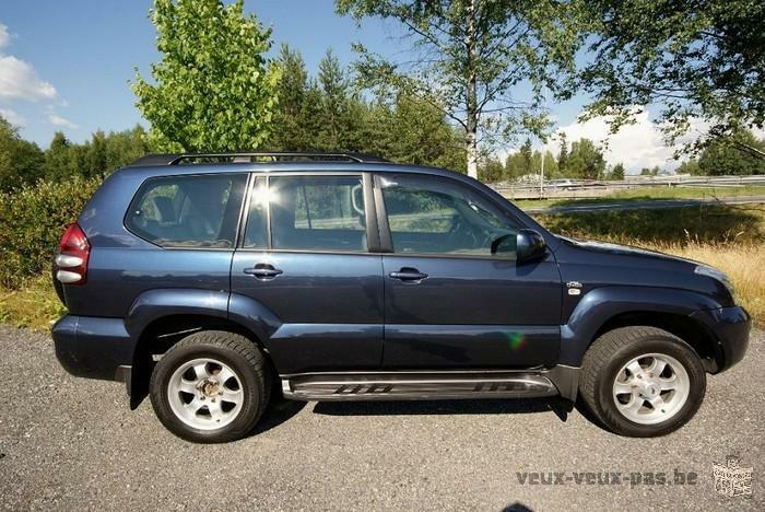 Toyota Land Cruiser 3.0 D-4D 8