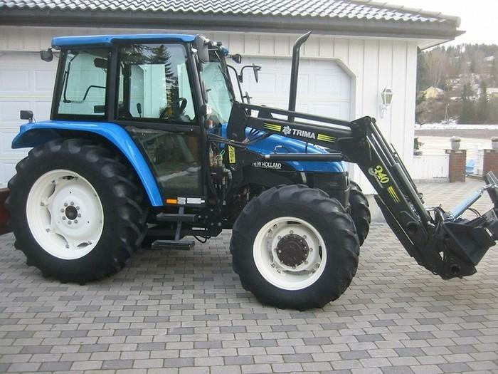 Tracteur agricole New holland L85