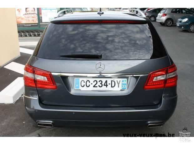 Tres belle voiture MERCEDES Classe E break 220 CDI de 2012 - 61 500Km