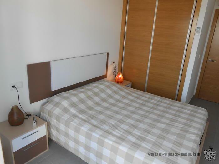 appartement 2 chambres à louer à Roldan (Murcia) avec piscine, proche de la mer, tout confort