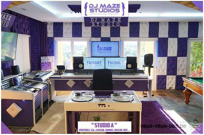 complexe Dj Maze studio (prestation audiovisuel)