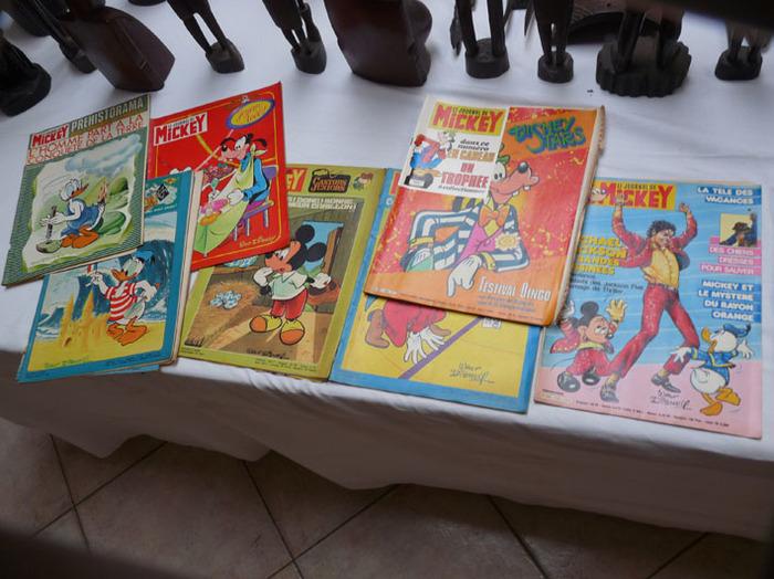 journal de michey 500 pièces années début 70-fin 80 complet