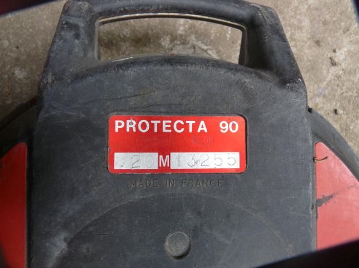 """stop chute avec 2 harnais de sécurité """"protecta 90"""" , avec une longueur de câble de 20 mètres"""