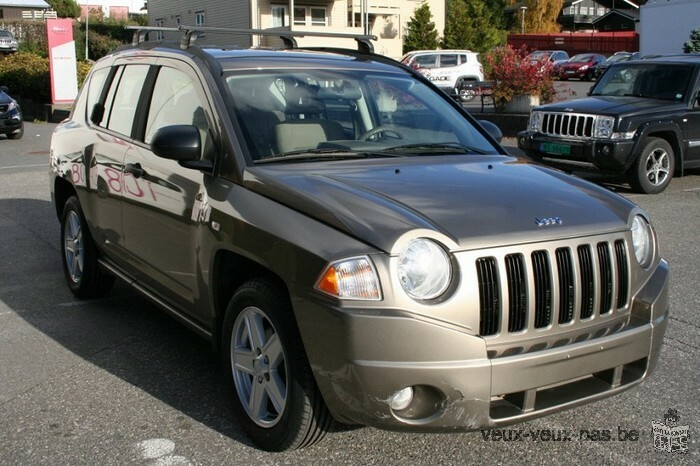 vends voiture Jeep Compass 2,0 CRD Sport 2008
